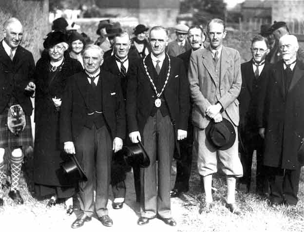 Group of Dignatories 1938