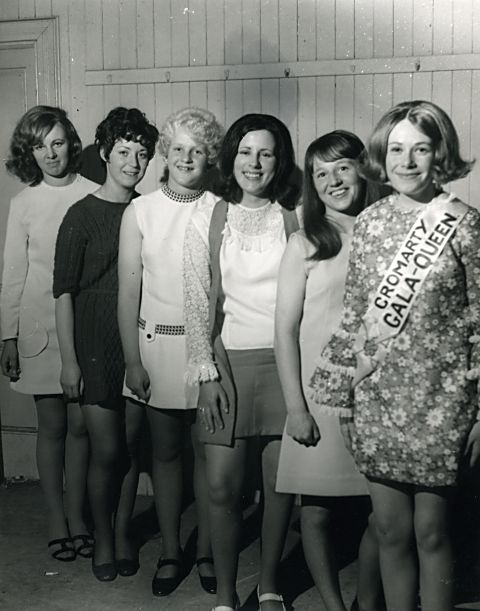Gala Queen & Runners Up - 1969