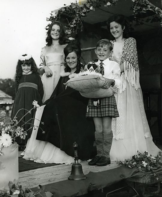 Gala Queen on Float - 1970