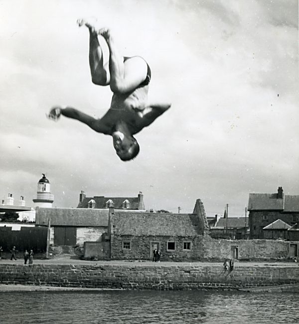 Diver at the Regatta - 1960