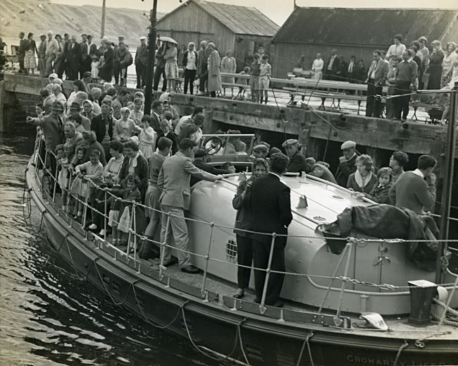Lifeboat Trip during the Regatta - 1960