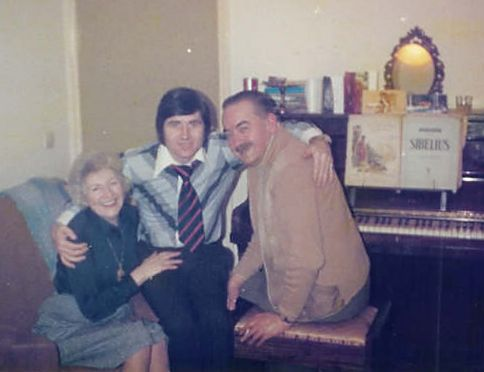 Roy Thomas & Tom & Jean McGookin - c1975