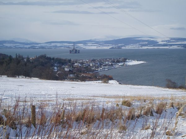 Cromarty in the Snow
