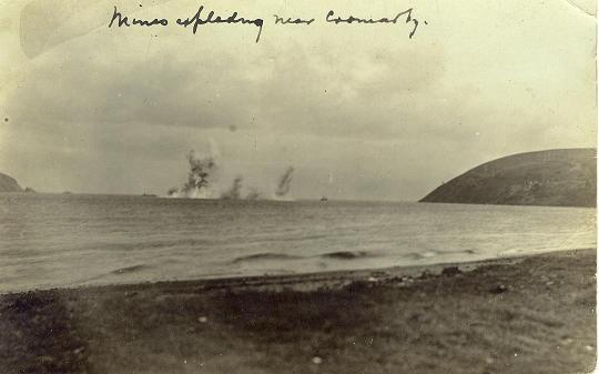 Exploding Mines - c1945