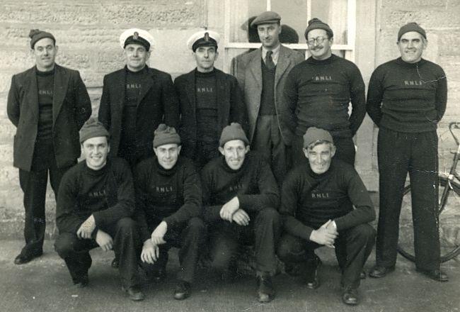 Lifeboat Crew c1955