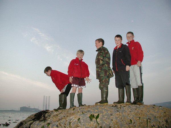 Standing on the Clach Mhallaichte