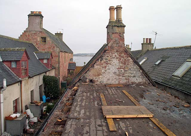 Cromarty Pottery - looking North
