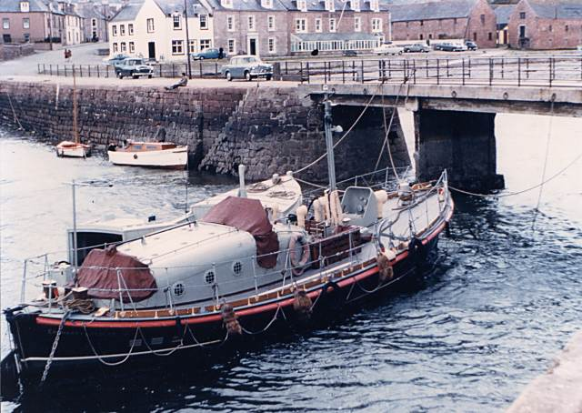 Cromarty Lifeboat - 1955