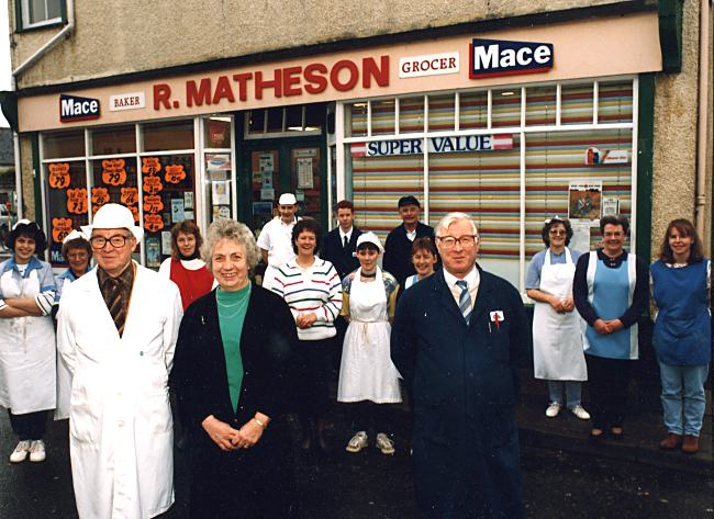 Matheson's Staff - c1988