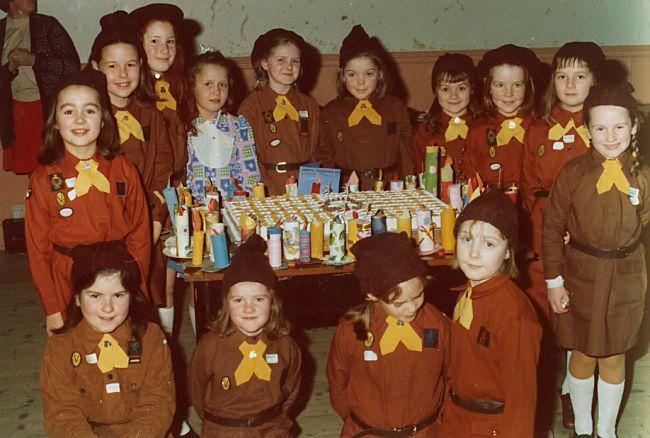 Cromarty Brownies - c1977