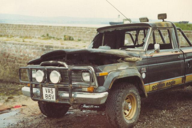 Hamish's Jeep - c1983