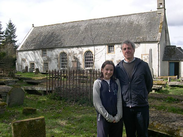 Ciara Newman with Griff Rhys-Jones