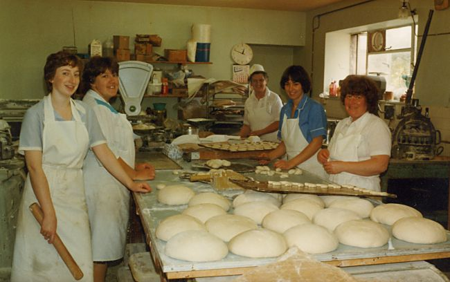 Cromarty Bakehouse - Aug 1983
