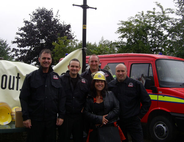 Fire Brigade with 'Roisin' from River City