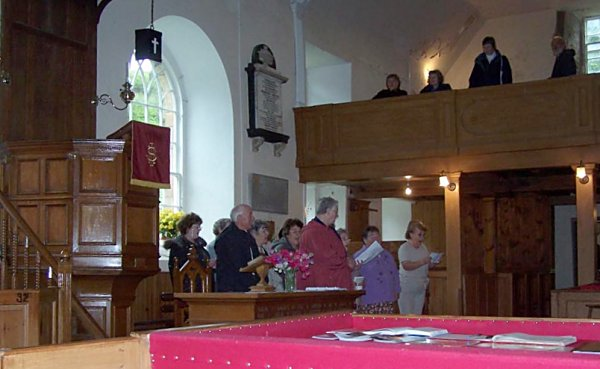 Singing in the East Church