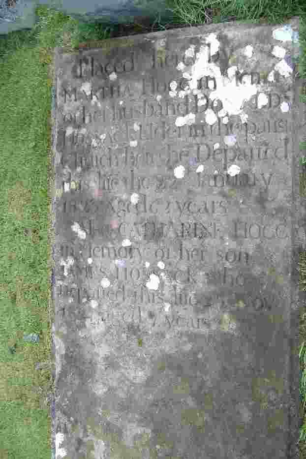 Gravestone of Donald Hossack 1758 - 1823