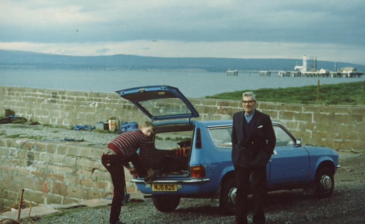 Ewan Garratt and Skp Mackay - 1981