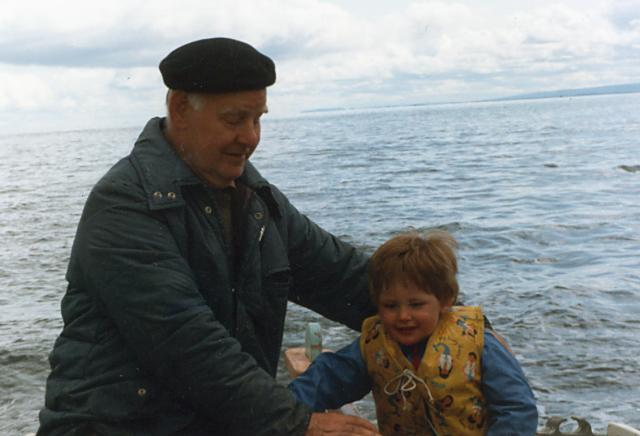 Bobby and Iain Hogg - 1987