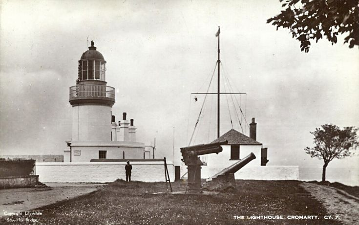 Guns at the Coastguard Station - c1900