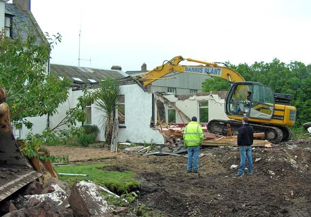 Demolition of Royal Hotel Function Room