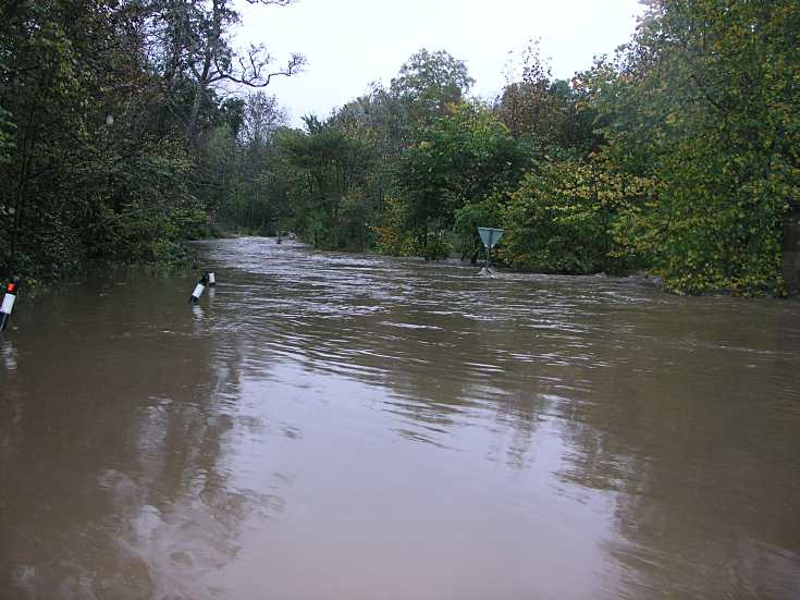 Flooding at Newhall Smiddy - 2006