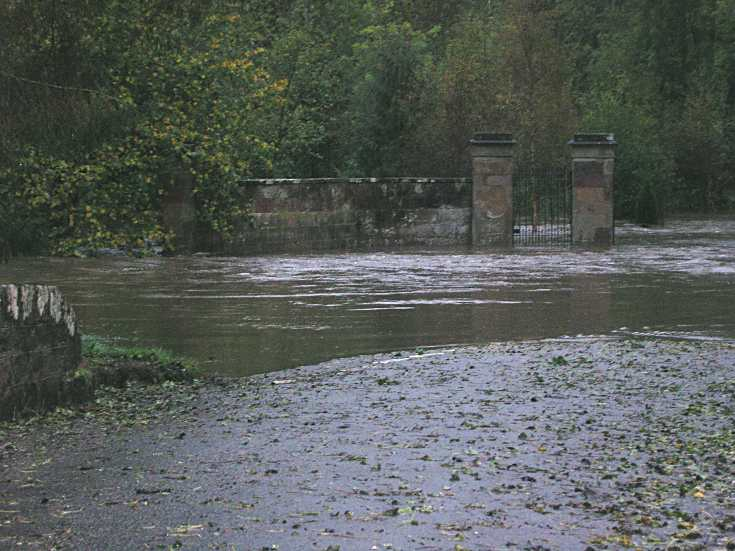 Flooding at Newhall junction.