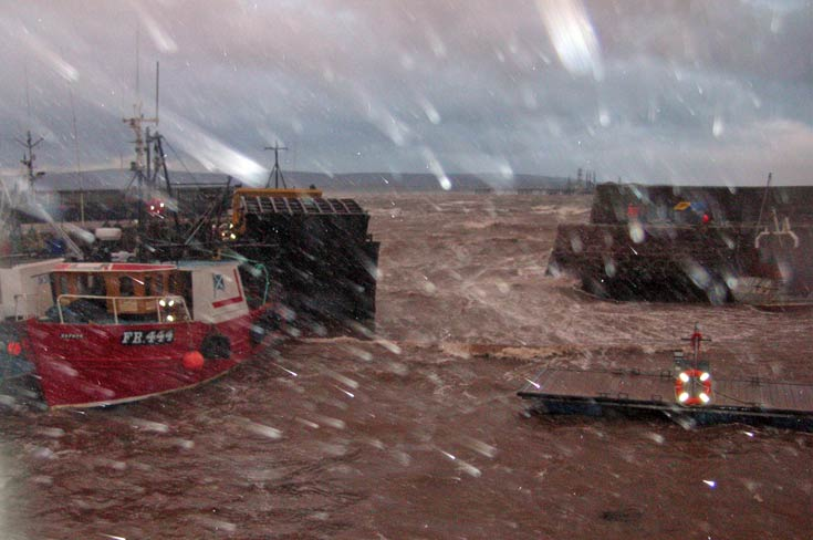 Storm at Cromarty Harbour 2