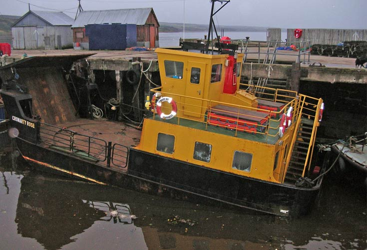 Cromarty Rose Ferry - after the storm