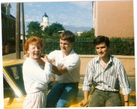Linda Reid, Leonard Reid & Duncan Johnston - c1984