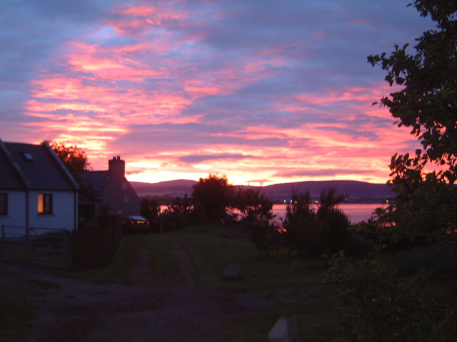 Jemimaville Sunset