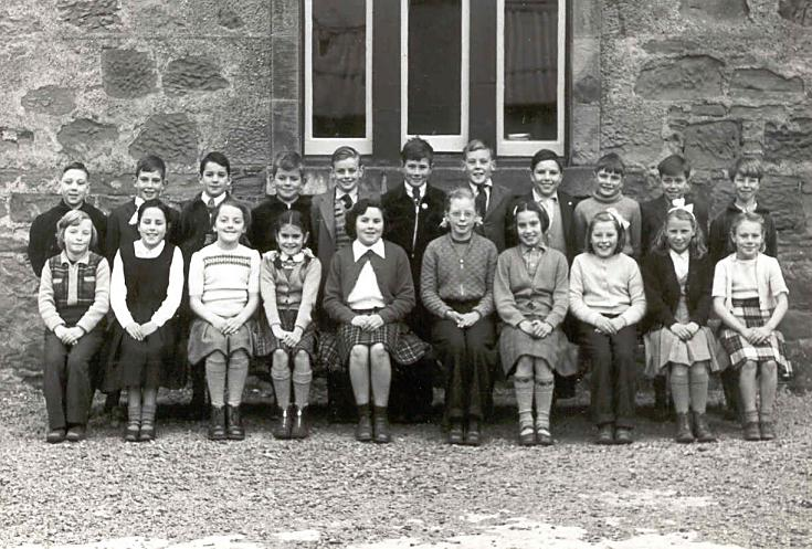 Cromarty School Primary 6? - 1956??