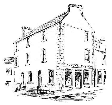 Sketch of the Corner Shop in Church Street