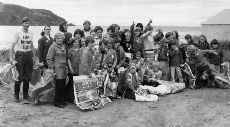 Beach Cleanup - 1978