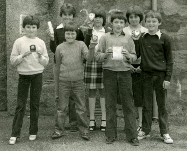 School Awards - 1981
