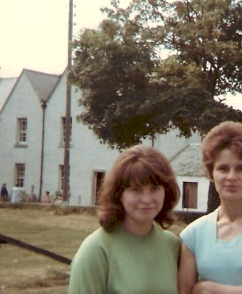 Marilyn and Diane in Victoria Park - c1975