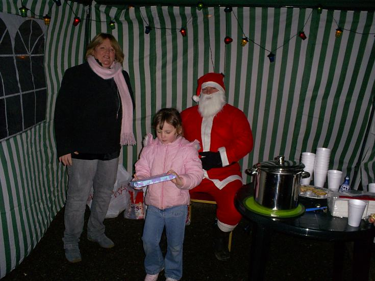 Santa at Townlands Park - 2006