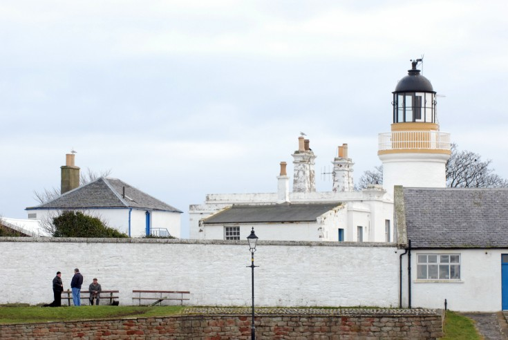 The Lighthouse from the Harbour