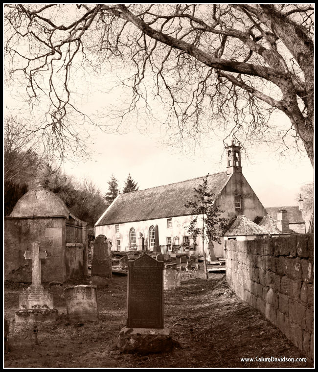 The East Kirk in Sepia