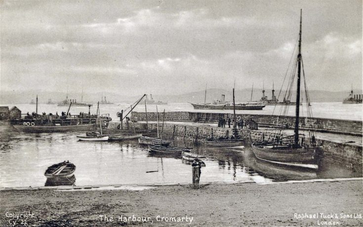 The Harbour, Cromarty, c1905??
