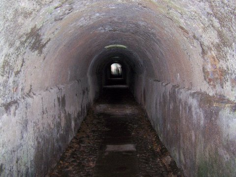 Tunnel to Cromarty House