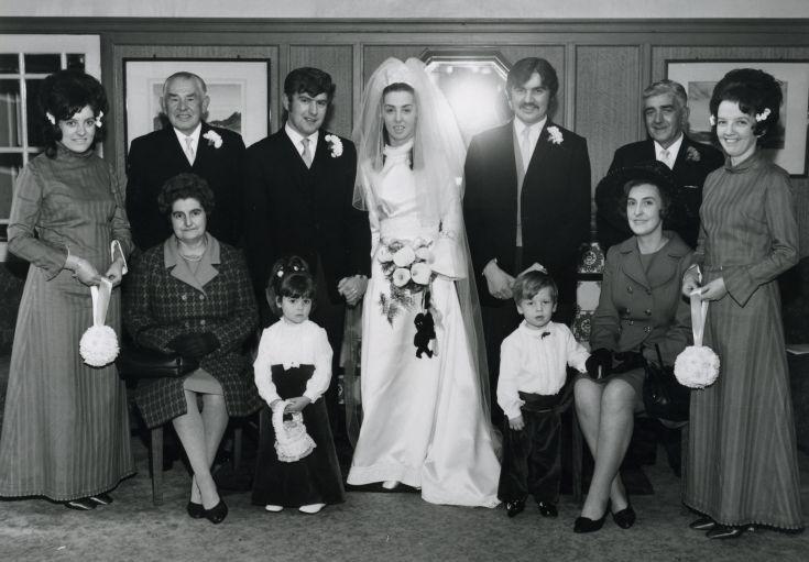 Wedding of Margaret Finlayson and Kenneth MacAulay