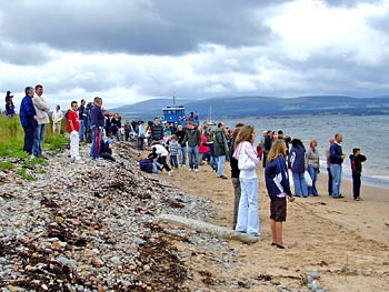 Crowd watching the Raft Race