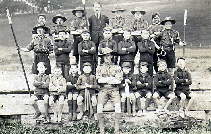 Cromarty Scout Troop - c1924