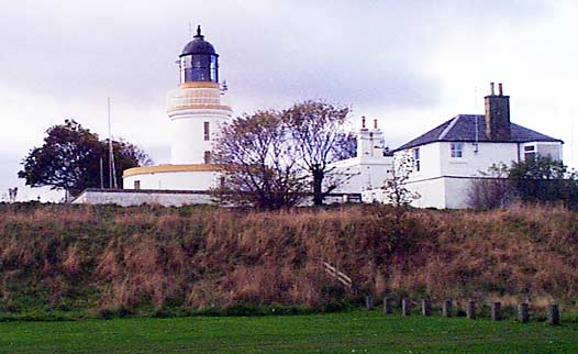 Lighthouse and Coastguard Station from the Links
