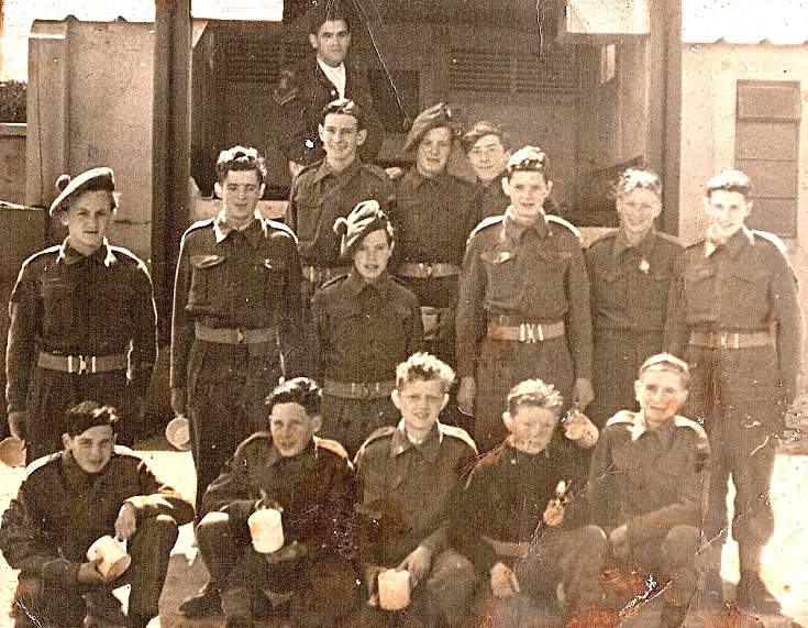 Cromarty Army Cadets - 1948