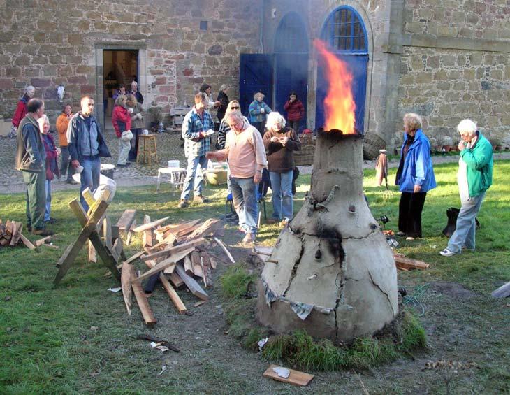 Scottish Potters Association - Basket Kiln