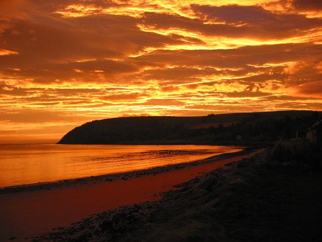 Sunrise Friday 26 October 2007