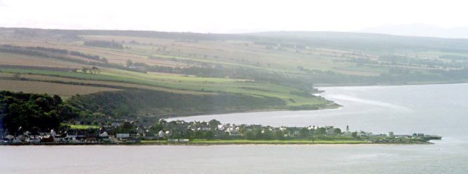 Cromarty taken from the top of the North Sutor