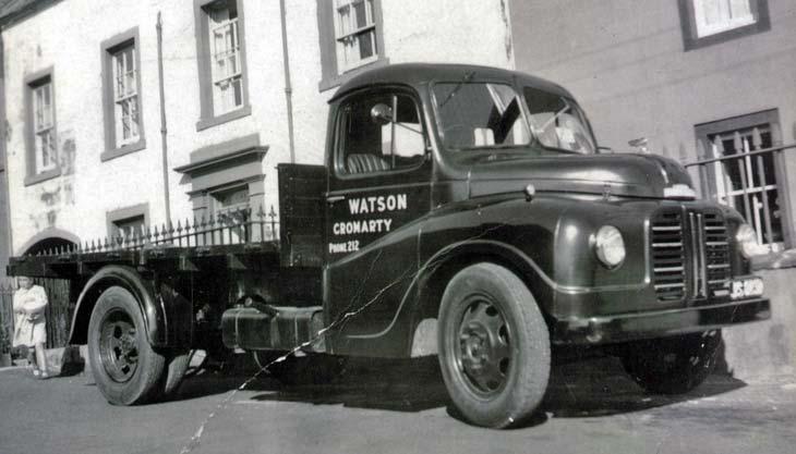 Albert Watson's Austin Loadstar flatbed truck