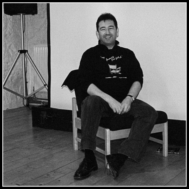 Dave Newman interviewing John Byrne